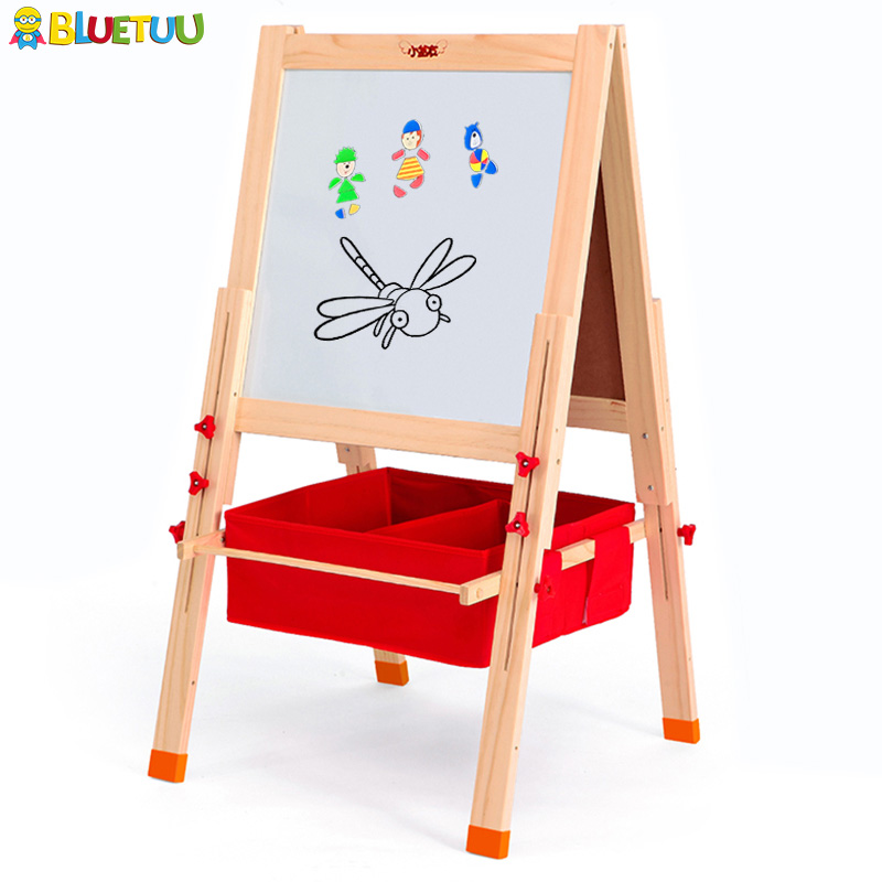 With magnetic marker board table easel kids paint set for Christmas gift