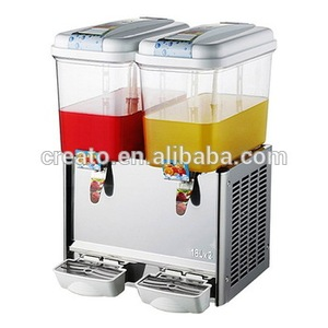 2017 Hot Sale 2 Tanks Beverage Dispenser
