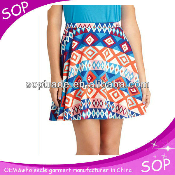 Summer korean style high waist office skirt