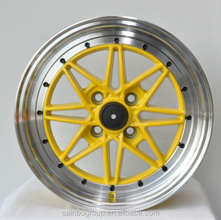 Hot sale 15 16 17 18 19 inch 4*100/114.3 alloy wheel /car rim-6