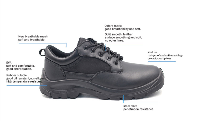 new product GB722 black brand safety footwear foot protection