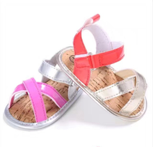 wholesale 2018 hot sale summer girls shoes new style baby soft sole baby shoes