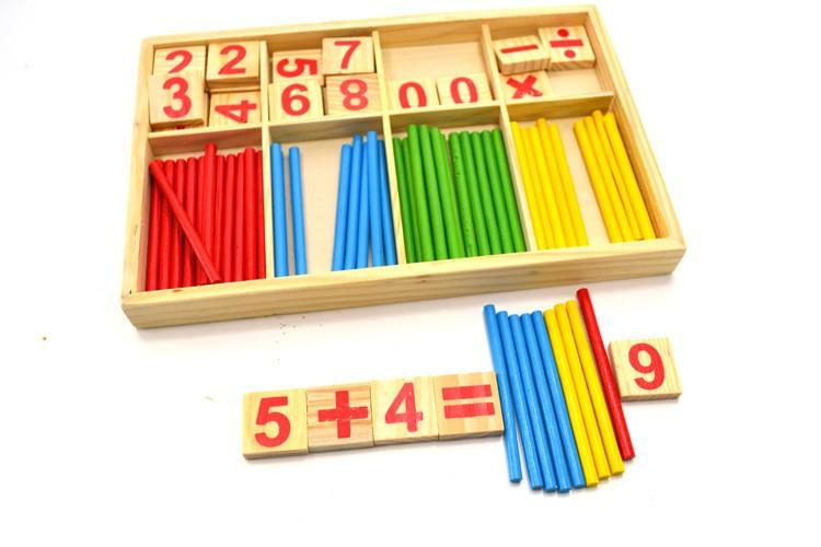cuenta Madera Juguetes Madera Matemáticas Para Buy Cuenta Niños De Aprendizaje Palos Educativos Contando E29WYHeDI