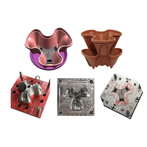 Plant pot plastic flower pot injection molds