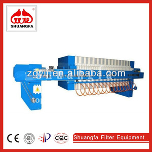 High quality and good sale coal slurry membrane filter press