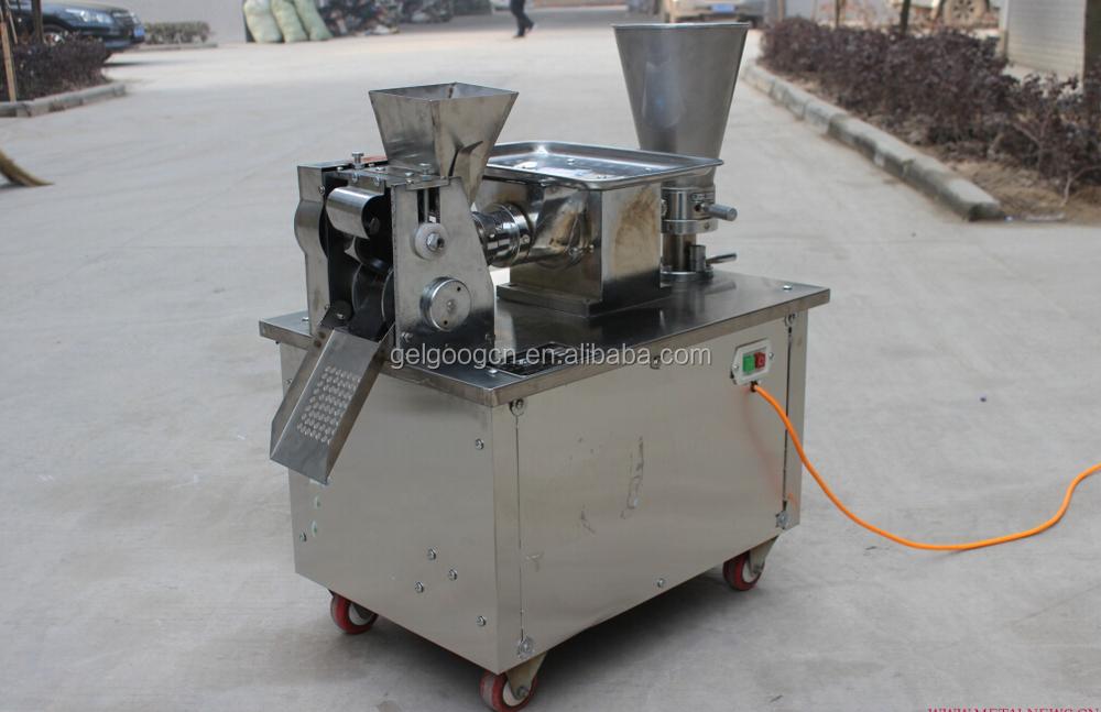 Chinese Commercial Automatic Electric Pierogi Ravioli Dumpling Roller Maker Folding Gyoza Samosa Making Machine for Home Use
