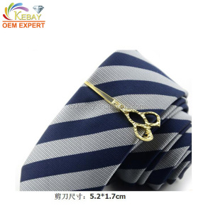 Fancy scissor shaped bow tie adjustable clip wholesale