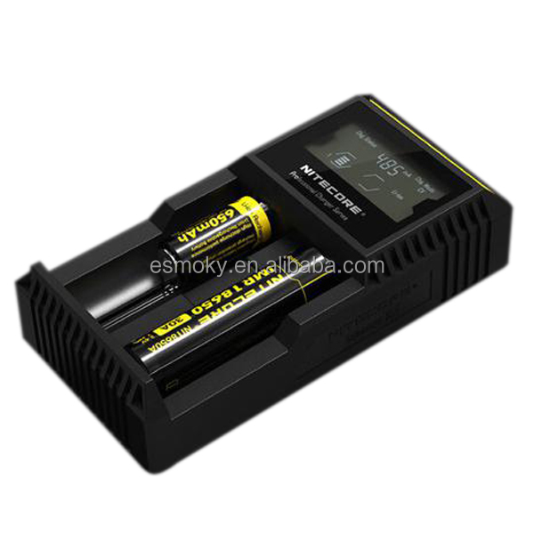 Online Shopping Crazy Hot Two Battery Charger US/EU/UK Plug LCD Battery Charger Original Nitecore I2 D2 Charger