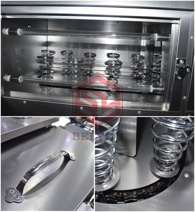 Stainless steel cone pizza equipment with different shapes