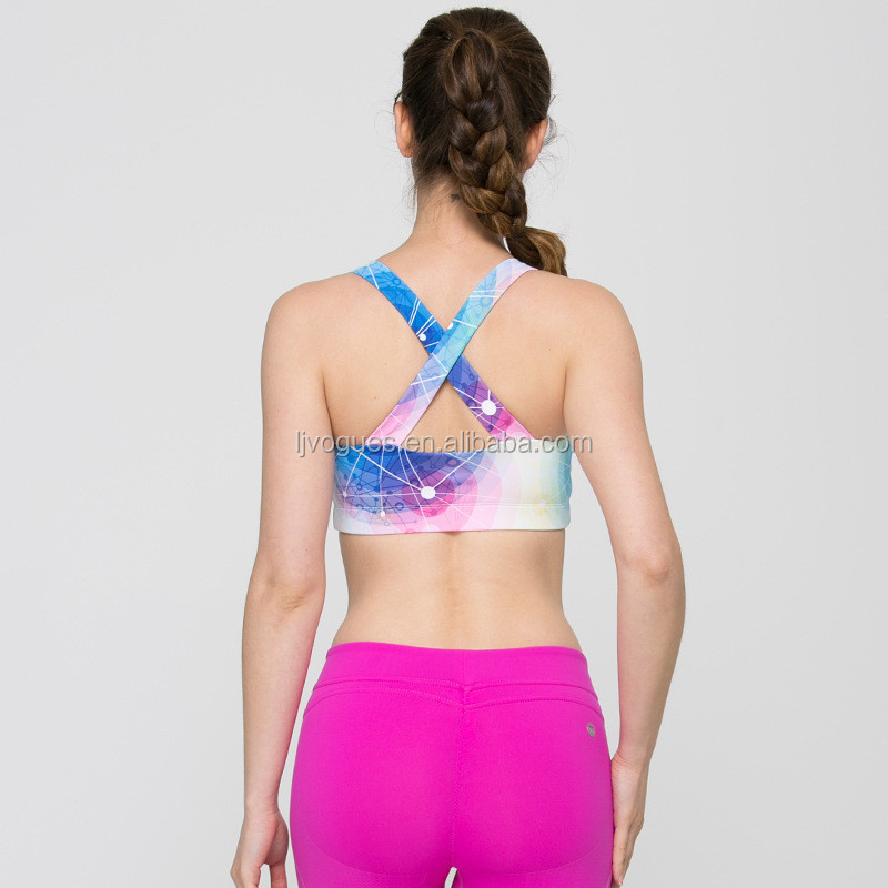 Wholesale Ladies Authentic Sportswear Outside Fitness Wear Yoga Running Tank Top 31