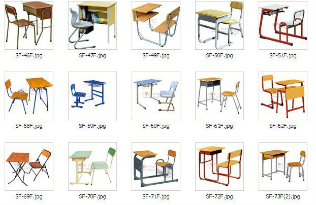 Cheap School Furniture Price List For Classroom Table And Chair