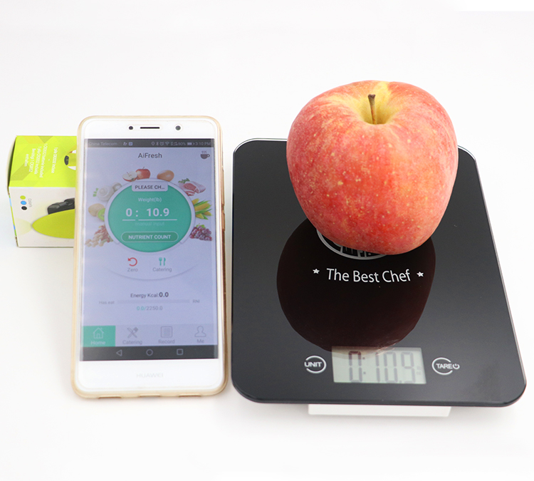 2017 Best Wireless Bluetooth Digital Kitchen Food Nutrition Scale with APP on Smart Phone