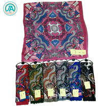 new fashion women muslim head scarf various color printed wholesale hijab malaysia