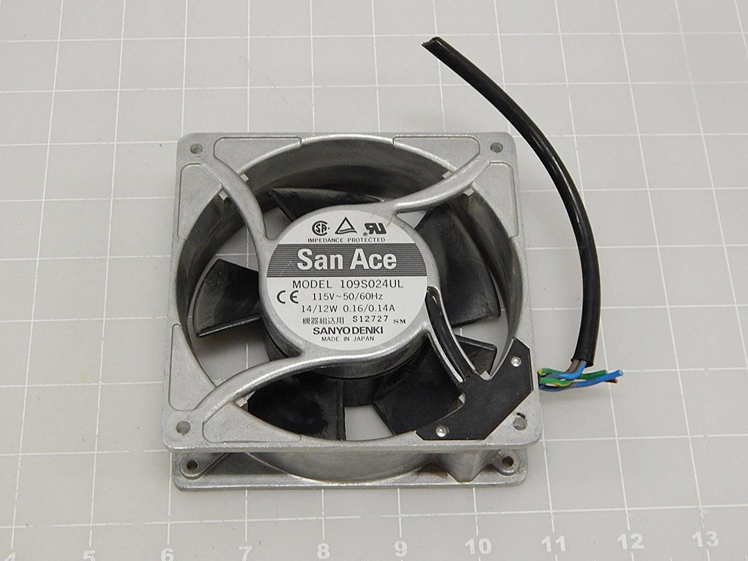 Cheap 160 Mm Case Fan Find Deals On Line At Alibabacom Casing 12cm Alseye Get Quotations Sanyo Denki Sanace Fans 109s024ul Axial 120mm 115vac 160ma