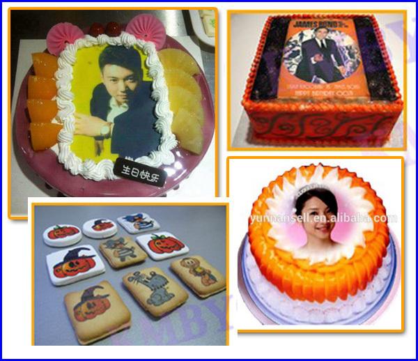 Direct On Food Printing,Edible Ink Food Printer,Birthday Cake ...