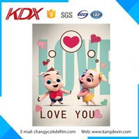 China Supplier Premium Quality 3D Cartoon Picture Lenticular Picture For 3D Card/3D Poster/3D Phone Case