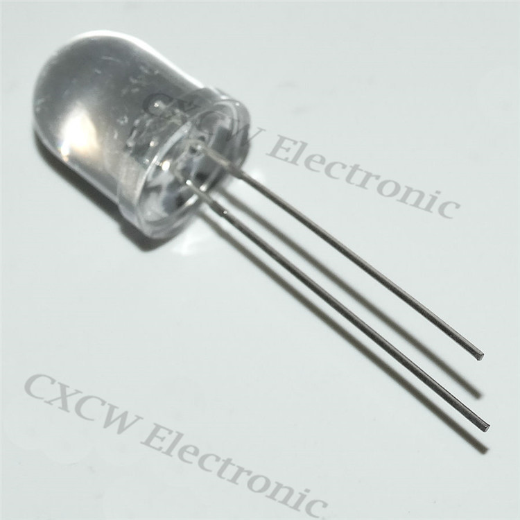 flashing led diode 10mm rgb led slow flash long legs made in china