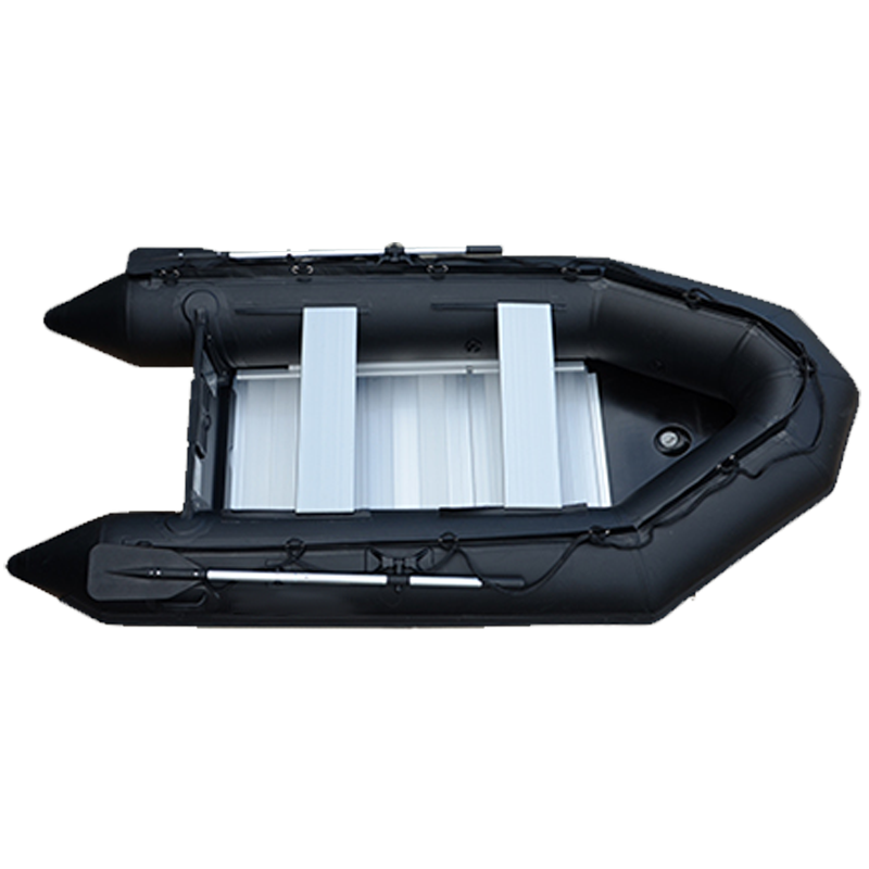 Black Cool Boat Rowing Boat/ High Speed Marine Vessel Inflatable Boat