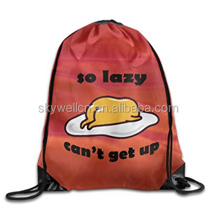 The Lazy Egg Bags Funny Summer BagsPortable Backpack Convenient For Travel And Outdoor