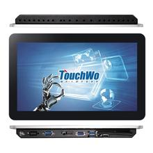 13.3 inch aluminium pc all in one, 견고한 tablet pc 와 rs232 port 대 한 산업 HMI