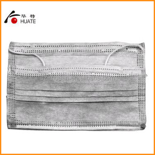 Disposable Non-woven Fabric Active Carbon Anti-dust Face Mask ...