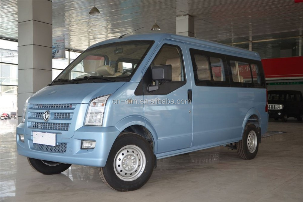 Wise choice Dongfeng Blue color C37 Mini Passenger Van for sale