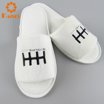 991ba057c45fe Promotional Disposable Open Toe Terry Slippers - Buy Slippers ...