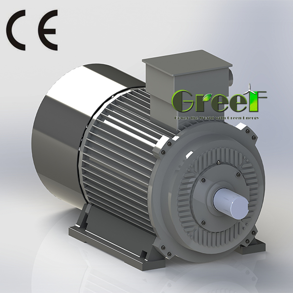 50rpm magnetic generator/ac permanent magnet generator/low rpm pmg 2kw