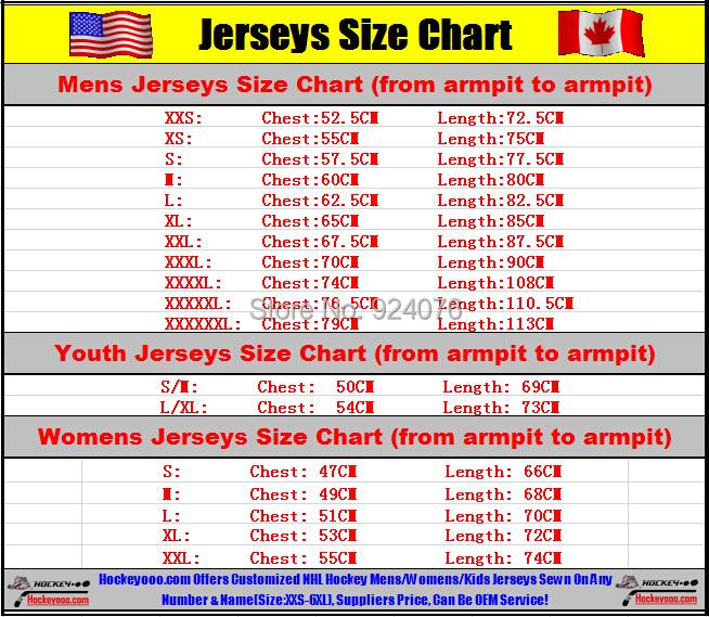 Reebok Jersey Size Chart Youth 62 Off Pramdragerfesten Dk
