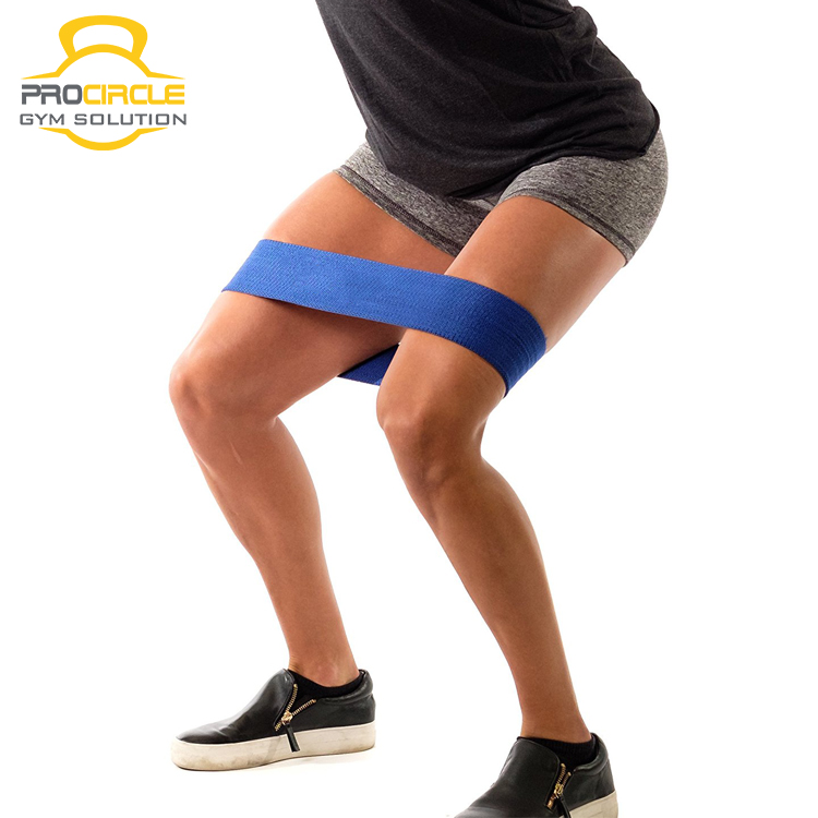 Fitness Work Out Booty Band Hip Resistance Band for Glutes & Thighs
