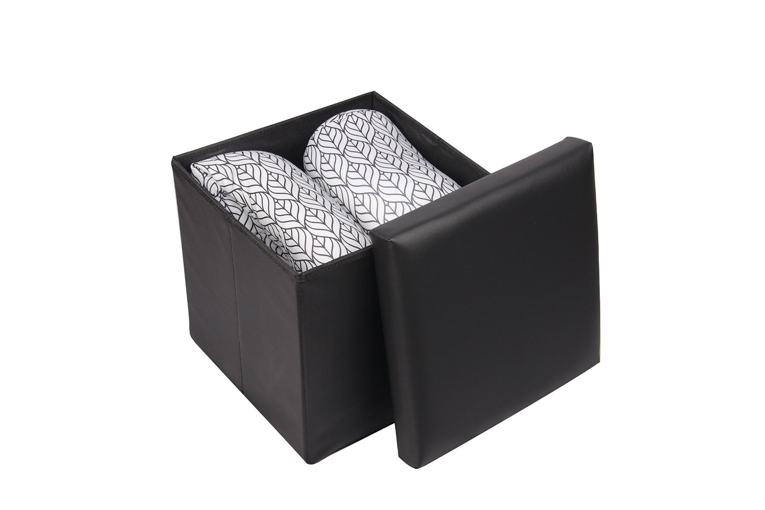 Sensational Buy Fhe Group Folding Storage Ottoman Bench With Hard Lid Gamerscity Chair Design For Home Gamerscityorg