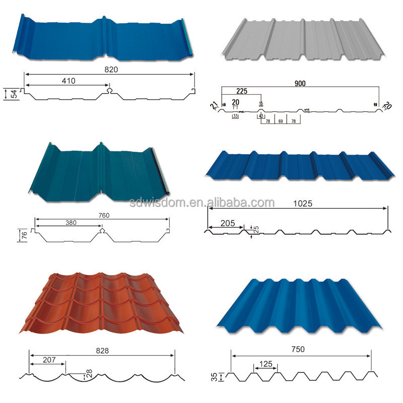 0 3 0 5mm Thickness Corrugated Metal Roofing Sheet With