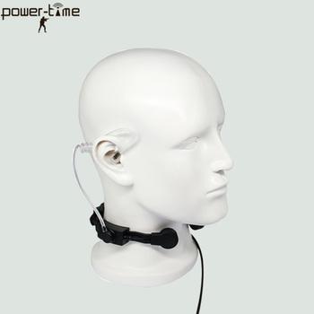 Sincgars Prc-117 Radio Neck Lightweight Throat Mic Headset - Buy Throat Mic  Headset,Vhf Uhf Radio Mobile,Waterproof Vhf Uhf Earpiece Product on