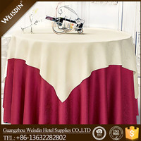 China wholesale exported malaysia banquet polyester lace table cloth