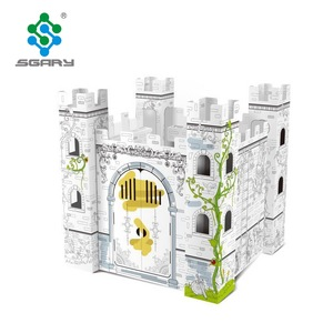 Cardboard Coloring Castle, Cardboard Coloring Castle Suppliers and ...