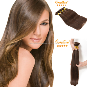 2015 Hot Sell wholesale distributors needed european bulk human hair for braiding flaxen hair color