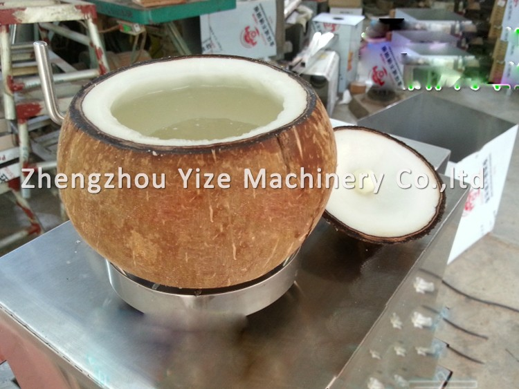 coconut opener machine
