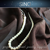 intensive white pearl chain necklaces Pearls Beads fresh water pearl string