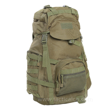 Military Outdoor 60L MOLLE external expansion Tactical Travel rucksack backpack