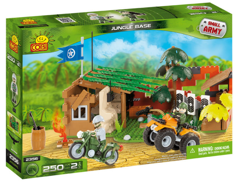 Cobi-On The Ranch Building Blocks Bricks