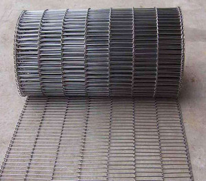 ss304 chain link stainless steel wire mesh conveyor belt