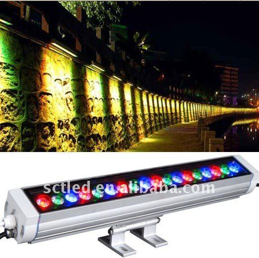 2012 popularoutdoor led lights wall washer(18W/24W/36W)