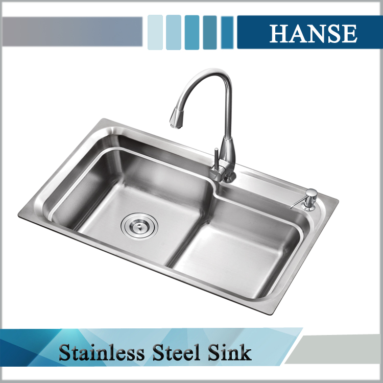 custom kitchen sinks stainless steel k 8246 single bowel stainless steel kitchen sink custom 8541