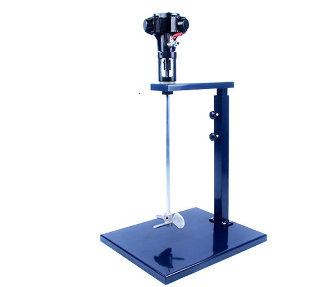 YJINGRUI EA230 Manual Lifting Pneumatic Paint Mixer Stainless Steel Mixer Blade Ink Mixer Machine