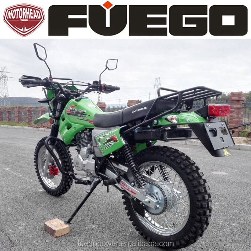 Sports Enduro Motorbike Dirt Bike Motorcycle With Cargo Rack 200cc 250cc