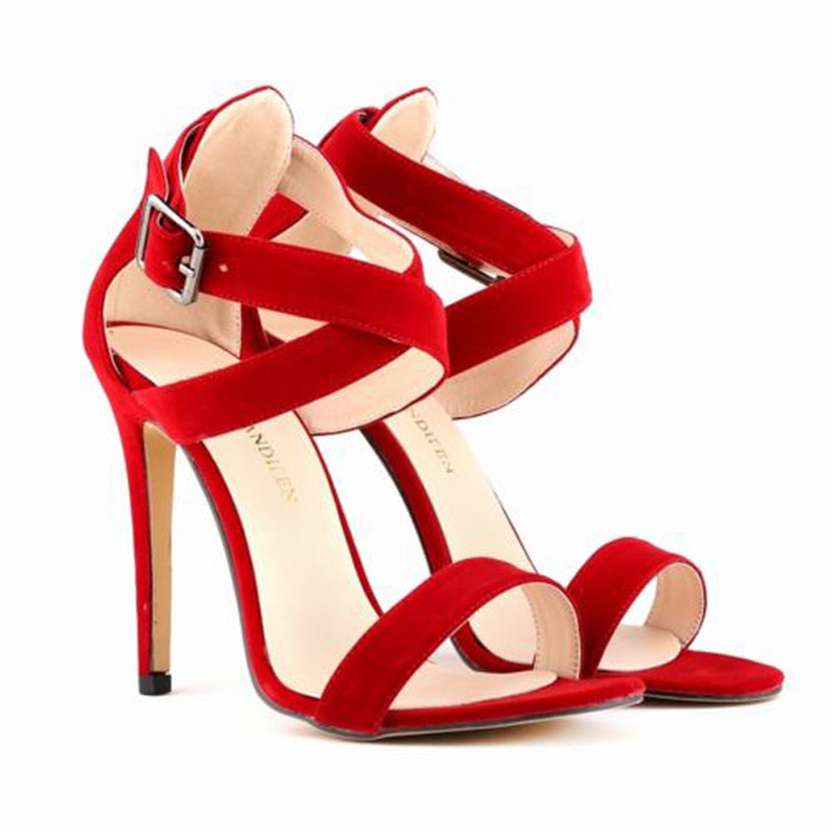 Cheap Strappy Heels Wedding, find Strappy Heels Wedding deals on ...