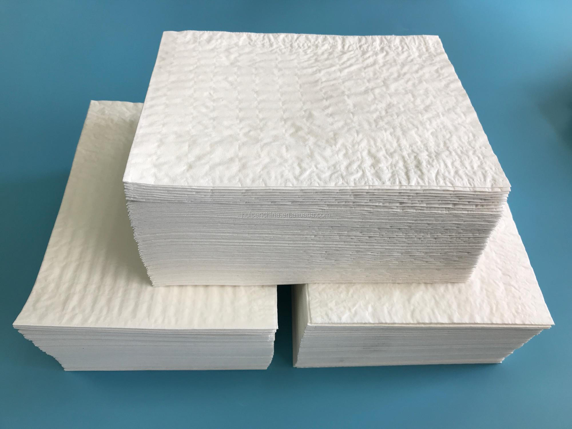 hot selling Disposable surgical scrim paper hand towel for hospital/ clinic 4 ply