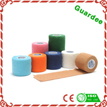 Waterproof Flexible Nonwoven Latex Free Printed Cohesive Bandage