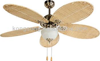 52 Quot Rattan Ceiling Fan Buy Rattan Ceiling Fan Cane