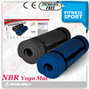 Plain pattern waterproof anti-slip NBR type yoga mat